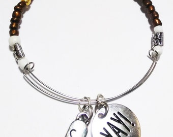 JOY - Expandable Bracelet, Affirmation Jewelry, Cause Jewelry, Benefits Homeless Mothers of Atlanta