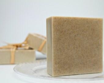 Men's Facial Soap, Oatmeal Soap, Acne Treatment Soap, Facial Soap- 6 oz bars