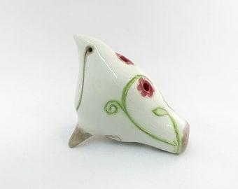 Ceramic Bird Whistle