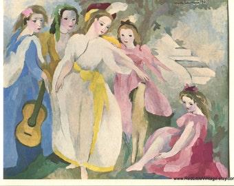Marie Laurencin, Parisian Art Prints, French Vintage Prints, French Prints, Avant Garde Art, Ready to Frame Prints,