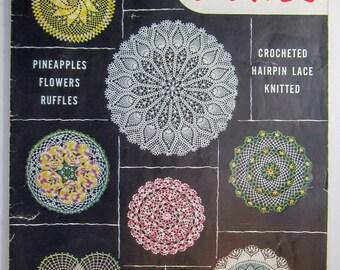 Vintage Star Doily Book No 104 Crochet