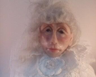 Ooak ghostly lady bust