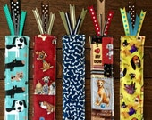 DOG BOOKMARK choose 1 dog lover gift - 100% PROCEEDS benefit pet Rescue Operation Pets Alive great book lovers gift or stocking stuffer