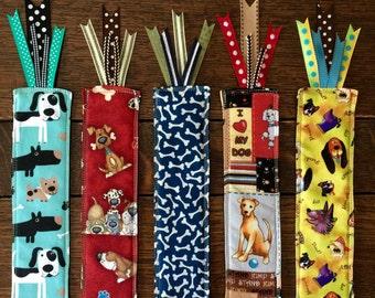 DOG BOOKMARK, choose 1, dog lover gift, dalmation, i love my dog, stocking stuffer, crazy dog lady, hound dog, labrador retriever, mutt dog