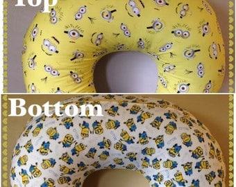 Minions - Bib & Boppy Cover