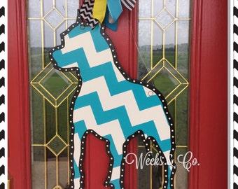Pit Bull Door Hanger Front Door Dog Lover Pet