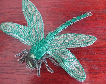 Dragonfly sew on applique