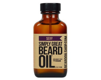 Beard Oil SEXY by Simply Great