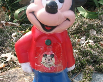 Vintage Mickey Mouse Piggy Bank