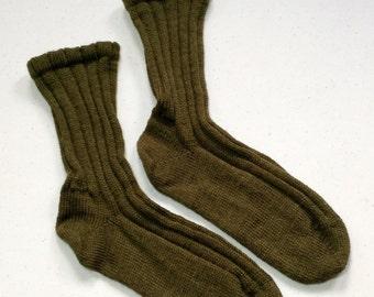 Socks - woodsy green