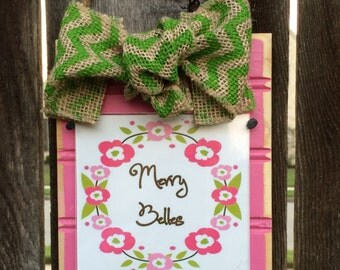 Custom Beadboard Frame Ornament