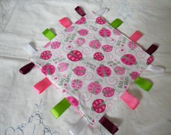 Minky Baby Blanket / Snuggle Blanket / Security Blanket / Baby Blanket/ Baby Shower Gift