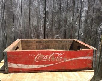 Vintage Coca Cola crate