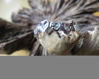 Vintage Stash of Silver Plated Toe Rings