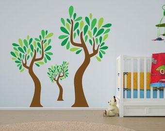 Grove of Trees Vinyl Wall Art