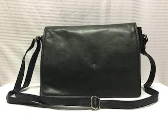 Organizer Bag, Black Leather purse,Shoulder Bag, Purse