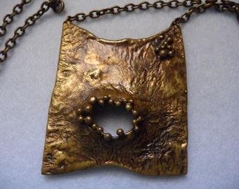 Necklace. Owe Johansson (Finland). Bronze.