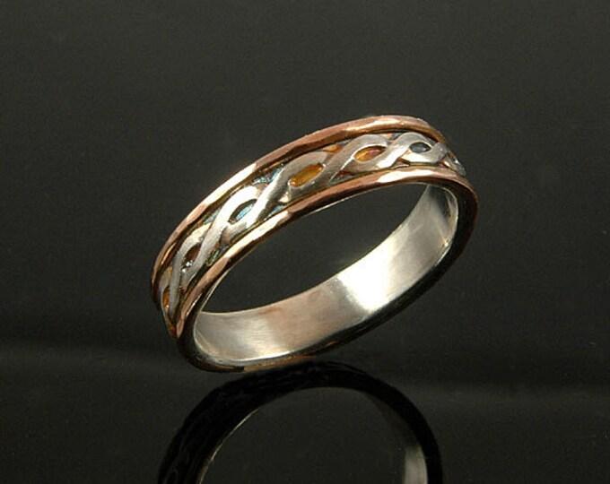 Eternity knot wedding ring