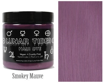 Smokey pink Mauve Hair Dye