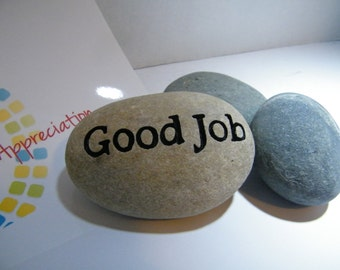 Employee Recognition/ Engraved Stones/Recognition Stones/ Personalize Award Recognition
