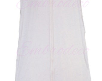 Personalized Wedding dress Vinyl Garment Bag.- White or Pink