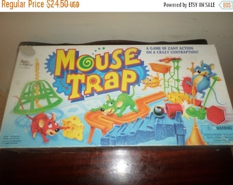 Save 25% Today Vintage 1994 Milton Bradley Board Game 4657 Mousetrap 100 Percent Complete Excellent Condition