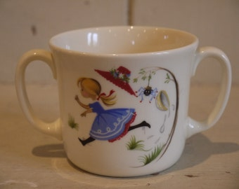 Vintage Baby Cup - Two Handles