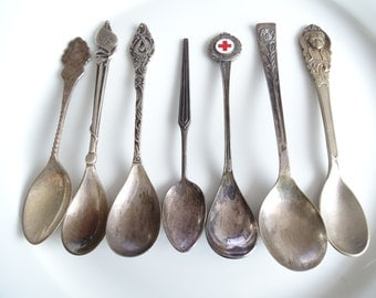 Instant Collection of Vintage and Antique Teaspoons