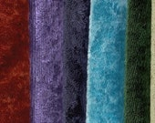 """Panne Velvet by the yard- 60"""" wide, 15 colors,"""