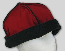 Mongolian hat, fleece lined, several colors, fits all heads (just about)