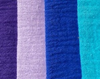 """Gauze by the yard- 60"""" wide, 11 colors,"""