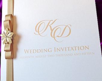 Dior Bow Invitations