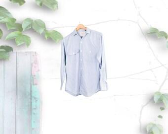 Ralph Lauren Chambray Denim Button Down Shirt