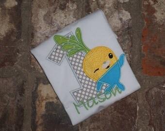Octonauts Birthday Shirt- Tunip