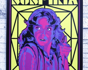Suspiria Vinyl Sticker 3 in x 4 in