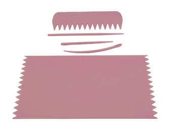 PINK Weaving Loom Board Frame 95 x 160mm with Comb & Needles. Ideal for making phone socks, etc. (S7384) Free UK Postage