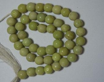 """13"""" strand of round serpentine beads"""