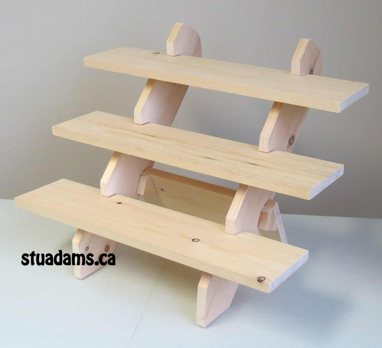 Build Craft Show Display Shelves