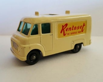 Vintage Matchbox No 67 - Rentaset T.V. Service Van, Made in England by Lesney near mint condition