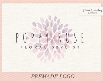 Premade Flower Logo Design and Watermark  - FB178