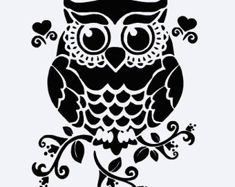 Owl Vinyl Decal