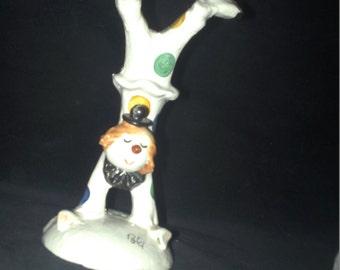 Poli Italian Pottery Clown
