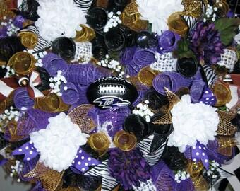 Baltimore Raven's Wreath