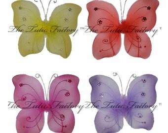 BABY FAIRY WINGS .  Butterfly Wings . Infant Wings