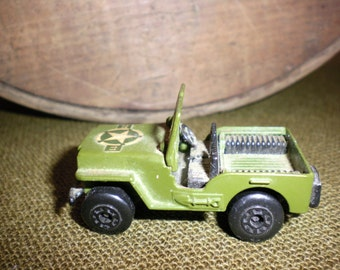 Matchbox U. S. Army Jeep No. 38