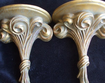 Vintage Mexican Rustic Style Sconces, Wall Shelf Corbels , Wall Decor