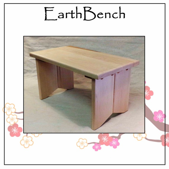 Small Foyer Stool : Entryway stool tall step or small by earthbench
