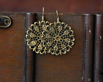 Filigree Oriental earrings