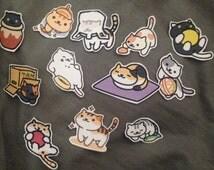 Neko Atsume Sticker set