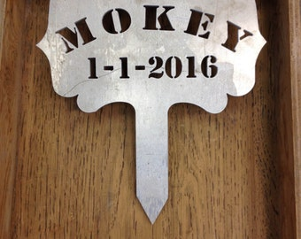 Custom Made Pet Grave Markers     Custom Made in the USA